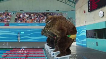 Farmers Insurance TV Spot, 'Hall of Claims: Gold Medal Grizzly' - Thumbnail 5