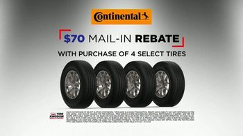Tire Kingdom Big Brands Bonus Month TV Spot, 'Mail-In Rebate With Purchase'