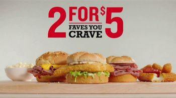 Arby's 2 for $5 Faves You Crave TV Spot, 'Absolutely Certain' Song by YOGI - Thumbnail 6