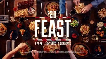 TGI Friday's $20 Feast TV Spot, 'Come in Now to Feast' - Thumbnail 9