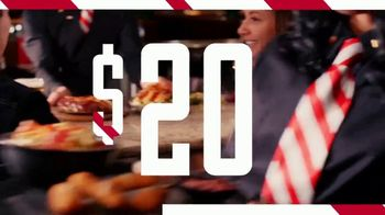 TGI Friday's $20 Feast TV Spot, 'Come in Now to Feast'