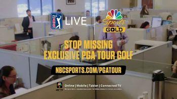 NBC Sports Gold PGA Tour Live TV Spot, 'Goodbye Mundane Mornings' - Thumbnail 10