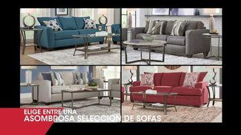 Rooms to Go Venta de Liquidación de Enero TV Spot, 'Selección de sofás' [Spanish]