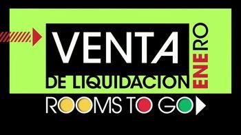 Rooms to Go Venta de Liquidación de Enero TV Spot, 'Reclinable' [Spanish]