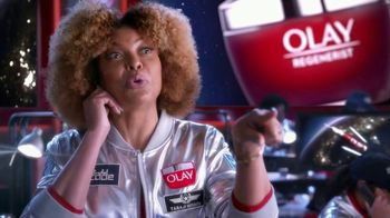 Olay Regenerist Super Bowl 2020 Teaser, 'Space Food' Ft. Taraji P. Henson, Lilly Singh,Busy Philipps - Thumbnail 8