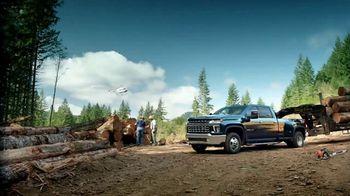 Chevrolet Silverado HD TV Spot, 'Heavy Duty Test-Drive' [T1]