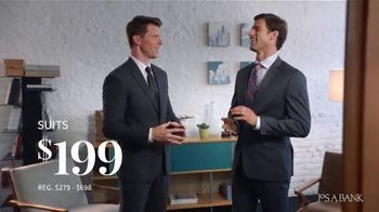 JoS. A. Bank January Savings Event TV Spot, 'Suits and Dress Shirts' - 432 commercial airings