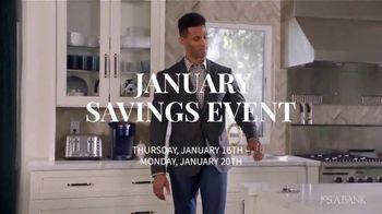 JoS. A. Bank January Savings Event TV Spot, 'Suits and Dress Shirts' - Thumbnail 1