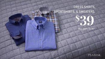JoS. A. Bank January Savings Event TV Spot, 'Suits and Dress Shirts' - Thumbnail 4