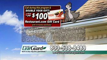 LeafGuard of Oregon 99 Cent Install Sale TV Spot, 'Costly Damage' - Thumbnail 9