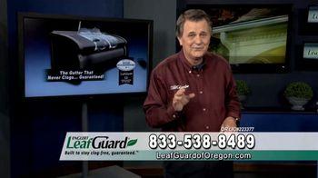 LeafGuard of Oregon 99 Cent Install Sale TV Spot, 'Costly Damage' - Thumbnail 5