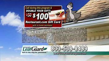 LeafGuard of Oregon 99 Cent Install Sale TV Spot, 'Costly Damage' - Thumbnail 8