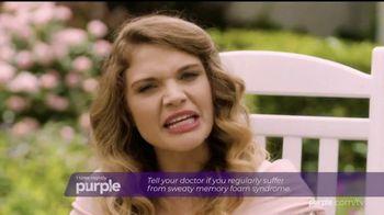 Purple Mattress Snore and 20 Sale TV Spot, 'Sleep Prescription' - Thumbnail 3