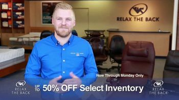 Relax the Back Clearance Sale TV Spot, 'Your Chance to Save'
