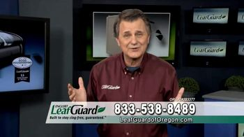 LeafGuard of Oregon 99 Cent Install Sale TV Spot, 'Satisfied Customers' - Thumbnail 1