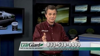 LeafGuard of Oregon 99 Cent Install Sale TV Spot, 'Satisfied Customers' - Thumbnail 3