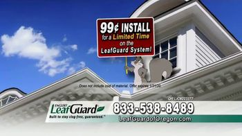 LeafGuard of Oregon 99 Cent Install Sale TV Spot, 'Satisfied Customers' - Thumbnail 6