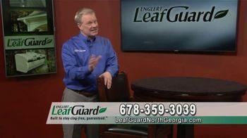 LeafGuard of North Georgia 99 Cent Install Sale TV Spot, 'Winter Savings: Peace of Mind'