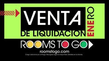 Rooms to Go Venta de Liquidación de Enero TV Spot, 'Dormitorio' [Spanish] - Thumbnail 4