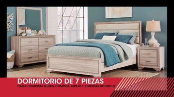 Rooms to Go Venta de Liquidación de Enero TV Spot, 'Dormitorio' [Spanish] - Thumbnail 2