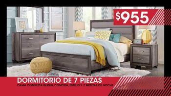 Rooms to Go Venta de Liquidación de Enero TV Spot, 'Dormitorio' [Spanish] - Thumbnail 3