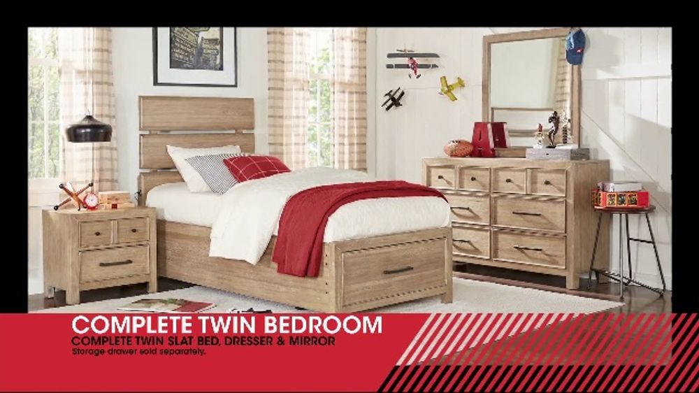 Rooms to Go Kids January Clearance Sale TV Commercial, \'Complete Twin  Bedrooms\' - Video