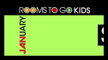 Rooms to Go Kids January Clearance Sale TV Spot, 'Complete Twin Bedroom' - Thumbnail 10