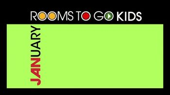 Rooms to Go Kids January Clearance Sale TV Spot, 'Complete Twin Bedroom' - Thumbnail 2