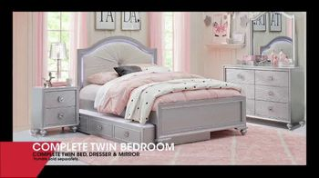 Rooms to Go Kids January Clearance Sale TV Spot, 'Complete Twin Bedroom' - Thumbnail 3