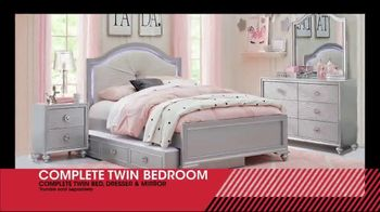 Rooms to Go Kids January Clearance Sale TV Spot, 'Complete Twin Bedroom' - Thumbnail 5