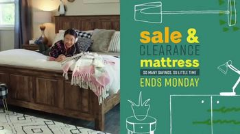 Ashley HomeStore Sale & Clearance Mattress Event TV Spot, 'Last Chance' Song by Midnight Riot