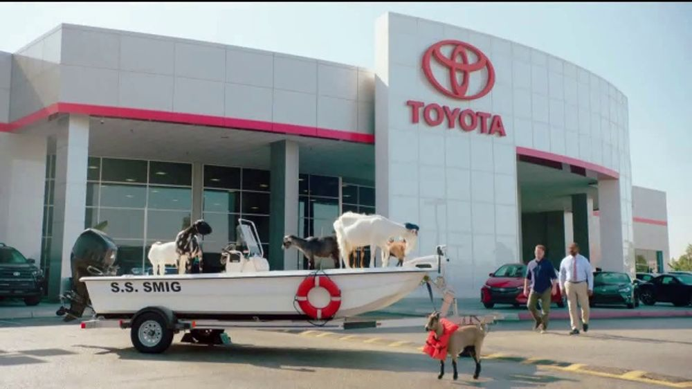 2020 Toyota Tacoma TV Commercial, 'Goats in a Boat' [T2]