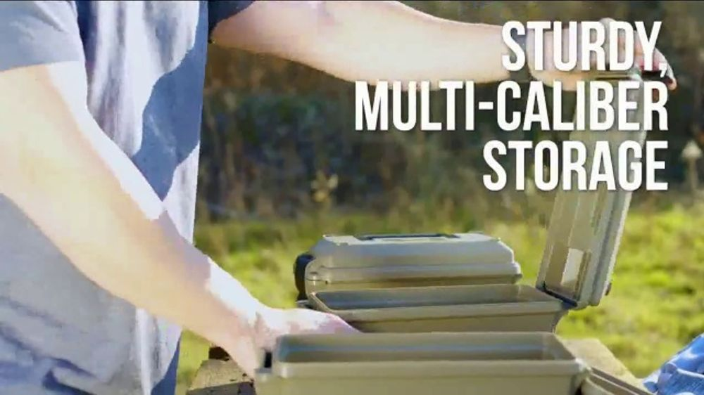 MTM Case-Gard TV Commercial, 'Sturdy, Multi-Caliber Storage'
