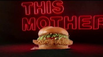 Rally's Mother Cruncher Chicken Sandwich TV Spot, 'Get a Better Mother'