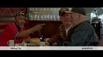 GreatCall TV Spot, 'Veteran Dad: Jitterbug Flip' - 91 commercial airings