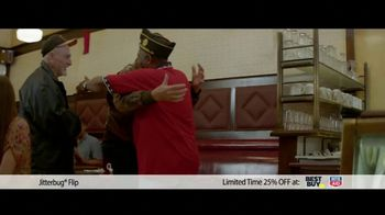 GreatCall TV Spot, 'Veteran Dad: Jitterbug Flip'
