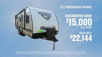 La Mesa RV TV Spot, 'Low Pricing: 2020 Winnebago Minnie' - Thumbnail 6