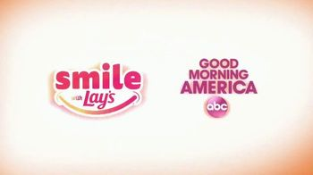 Smile With Lays TV Spot, 'GMA: Spread Smiles Across America'