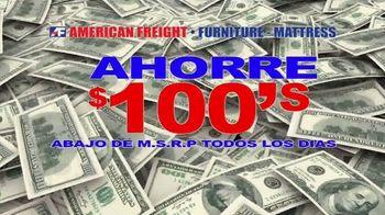 American Freight TV Spot, 'Ahorre $100's' [Spanish] - Thumbnail 2