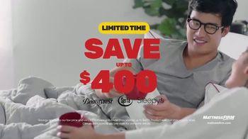 Mattress Firm Year End Sale TV Spot, 'Beautyrest and Adjustable Base'