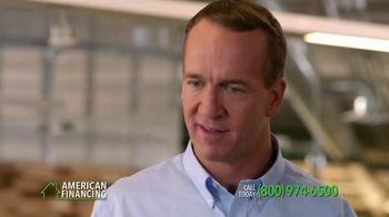 American Financing TV Spot, 'Around the Office' Featuring Peyton Manning - Thumbnail 3