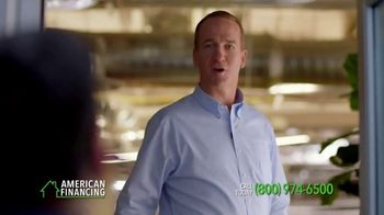 American Financing TV Spot, 'Around the Office' Featuring Peyton Manning - Thumbnail 4