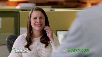 American Financing TV Spot, 'Around the Office' Featuring Peyton Manning