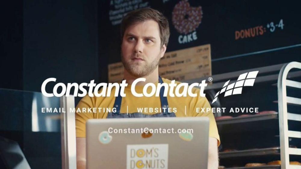 Constant Contact TV Commercial, 'Big Small Biz Thoughts: Donuts: Bus Door'