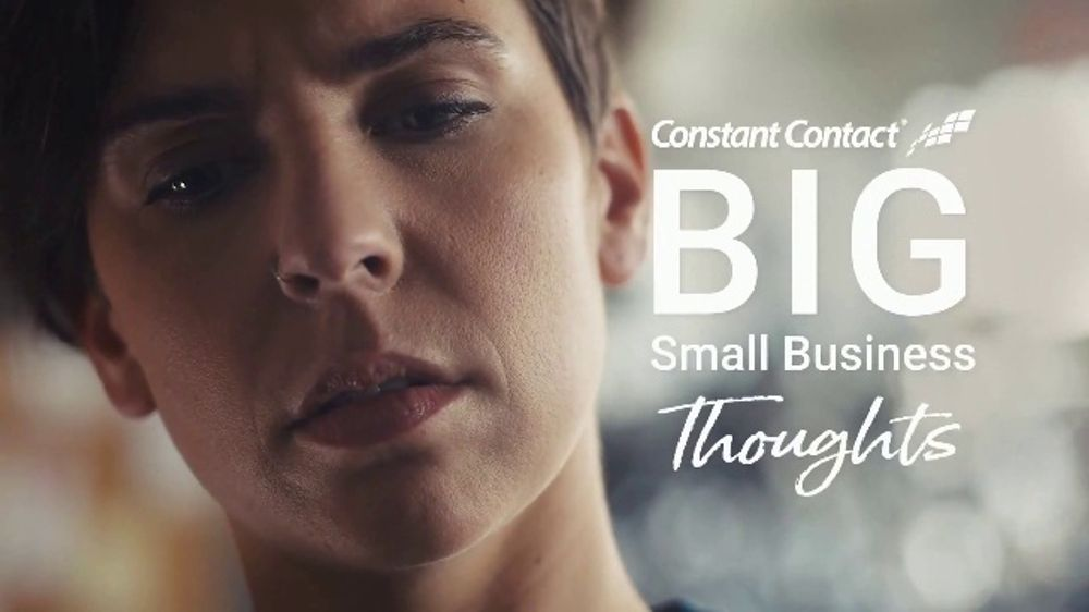 Constant Contact TV Commercial, 'Big Small Biz Thoughts: Bike Shop: Pizza'