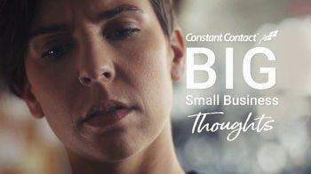 Constant Contact TV Spot, 'Big Small Biz Thoughts: Bike Shop: Pizza'