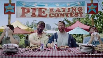 Hint TV Spot, 'Pie Eating Contest' - Thumbnail 1