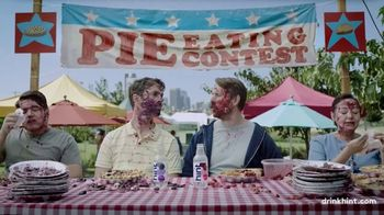 Hint TV Spot, 'Pie Eating Contest'