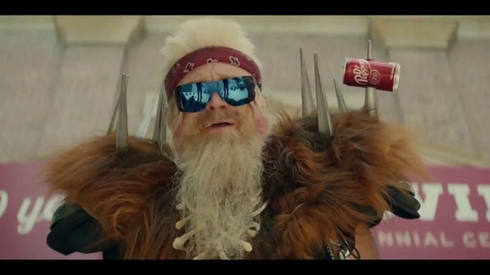 Dr Pepper TV Commercial, 'Fansville: Big Fan Rising' Featuring Eddie George, Brian Bosworth