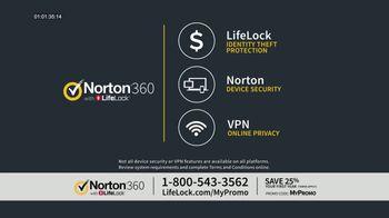 LifeLock TV Spot, 'CSP360 V2A General 120 25' - Thumbnail 6
